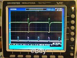 Gw Instek Gds-2104a Digital Storage Oscilloscope Exe Cond