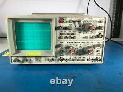 Hameg Hm205-2 Digital Oscilloscope Storage Scope Lab Testé