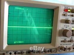 Hameg Hm407 40mhz Numérique Analogique Portée Universaloszilloskop Stockage Oscilloscope