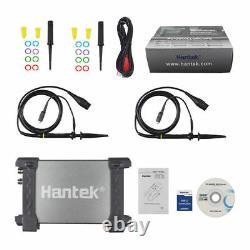 Hantek 20/50/80/100/200mhz Pc 2ch Usb Digital Storage Oscilloscope 48-250msa/s