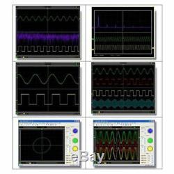 Hantek 6022be Stockage 2ch Fft Usb Pc Oscilloscope Numérique 48msa / 20mhz De 8 Bit