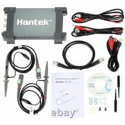 Hantek 6104bd Oscilloscope 100mhz Pc Générateur Usb 4ch 1gsa/s Stockage Numérique