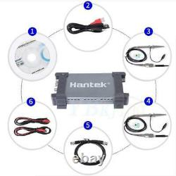 Hantek 6254bd Digital Storage Oscilloscope 250mhz 1gsa/s +25mhz Générateur De Signal