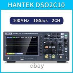 Hantek Dso2c10 Stockage D'oscilloscope Numérique De 7 Pouces Osciloscopio 100m 1g