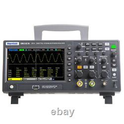 Hantek Dso2c10 Stockage Numérique Oscilloscope 2ch 150mhz 1gs/s 7 In Tft Display