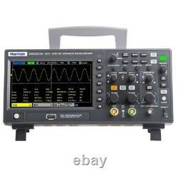 Hantek Dso2d10 Oscilloscope De Stockage Numérique 2 Canaux 100mhz 1gsa/s Avec 1ch Awg