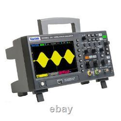 Hantek Dso2d15 7 Dans L'oscilloscope Numérique Tft 2ch+1ch Stockage Osciloscopio 150mhz
