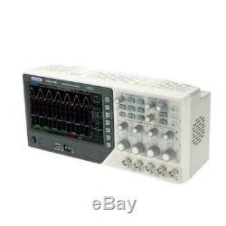 Hantek Dso4104b 100mhz 4 Canaux Oscilloscope 1gsa / S + 64k Stockage Numérique