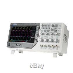 Hantek Dso4104b Oscilloscope 100mhz 4 Canaux 1gsa / S + 64k Digital Storage Nouveau
