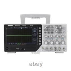 Hantek Dso4254c 7 Tft LCD Stockage Numérique Oscilloscope 4-ch 250mhz 1gsa/s Hh Ls