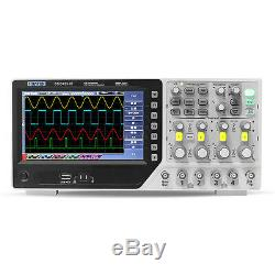 Hantek Dso4254c Digital Storage Oscilloscope 4h 250mhz 1gs / Ext De DVM Hôte / De Usb