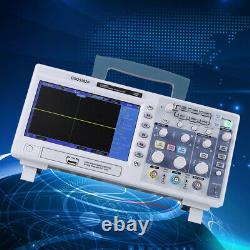 Hantek Dso5102p 100mhz 2 Canal 1gsa/s 7'' Tft LCD Digital Storage Oscilloscope