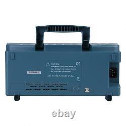 Hantek Dso5102p 7 LCD Digital Storage Oscilloscope 2 Canaux 100mhz 1gsa/s