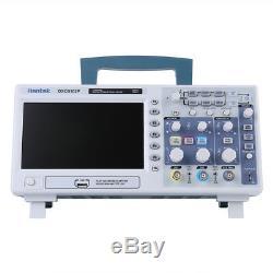 Hantek Dso5102p Digital Storage Oscilloscope 100mhz 1gsa / S 2-ch 7 Tft Usb Nouveau