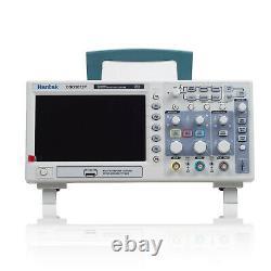 Hantek Dso5202p 200mhz 2 Ch 1gsa/s 7'' Tft Oscilloscope De Stockage Numérique À Écran LCD Nouveau