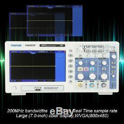 Hantek Dso5202p 200mhz Stockage Numérique Oscilloscope 2voies 1gsa / S Ac110-240v