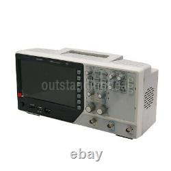 Hantek Dso7302b Stockage Numérique Oscilloscope 300mhz 2-ch 7 LCD 2gsa/s Osc 64k