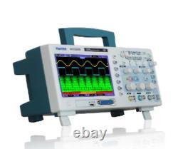Hantek Mso5202d Stockage Numérique Oscilloscope Scopemeter 2ch 1gsa/s 60mhz