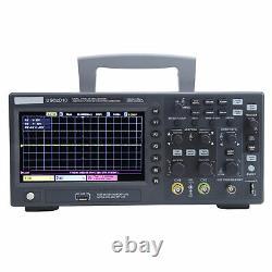 Hantek Oscilloscope Dso2d10 1gsa/s 2ch Stockage Numérique 100mhz 7in Écran LCD Tft