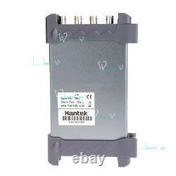 Hantek Pc Usb Digital Storage Oscilloscope 4channelons 100mhz 1gsa / S 8bits 64k Ce