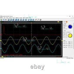 Hantek Pc Usb Digital Storage Oscilloscope 4channels 200mhz 1gsa/s 8bits 64k Ce