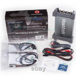 Hantek Virtual Pc Usb Digital Storage Oscilloscope 4ch 70mhz 1gsa/s 8bits 64k
