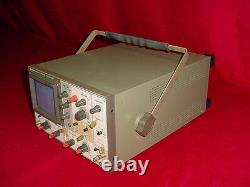 Hitachi Vc-6015 2 Canaux 10mhz/100khz Oscilloscope De Stockage Numérique 8 Bits