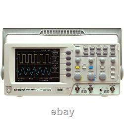 Instek Gds-1102-u 100 Mhz Oscilloscope À Mémoire Numérique