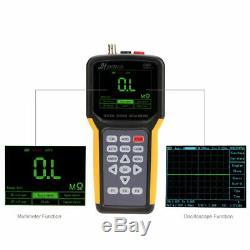 Jds2012a 200msa / 20mhz De Multimètre Oscilloscopes Portables Tft LCD De Stockage Numérique