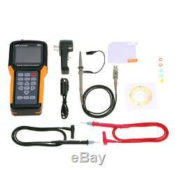 Jds2012a Tft Multimètre 200msa / S 20mhz Portable LCD Stockage Numérique Oscilloscope