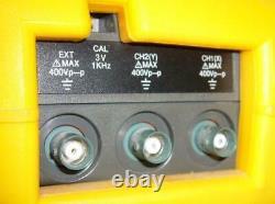 Keithley 125 Scopebook 20 Mhz Stockage Numérique Oszilloskop + Multifunktions-dmm