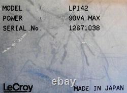 Lecroy Lp142 Oscilloscope De Stockage Numérique 100 Mhz