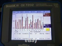 Metrix Scopix III Ox 7202 D'oscilloscope À Mémoire De Stockage Numérique