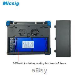 Micsig Tablette Numérique Stockage Oscilloscope 100mhz 4ch To1104 Écran Tactile