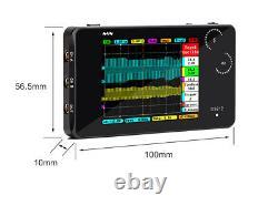 Mini Arm Ds212 Oscilloscope De Stockage Numérique Deux Canaux Échantillon 10msa/s