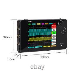 Mini Arm Dso212 Ds212 Oscilloscope De Stockage Numérique Portable 1mhz 10msa/