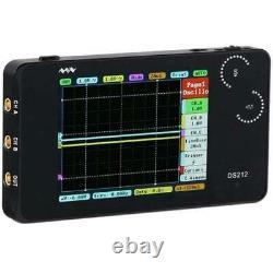 Miniware Ds212 Digital Storage Oscilloscope 1mhz 10msa/s Portable Nano Handheld