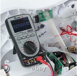 Mise À Niveau Mustool Mt8206 Intelligent Digital Storage Oscilloscope Multimeter A/dc