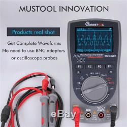 Mustool Mds8207 40mhz 200msp Digital Storage Oscilloscope Multimètre