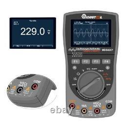 Mustool Mds8207 40mhz 200msp Stockage Numérique Oscilloscope Multimeter Scopemeter