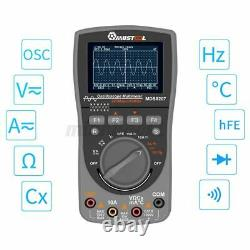 Mustool Mds8207 Oscilloscope De Stockage Numérique Multimètre 40mhz 200msp