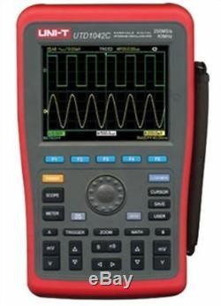 New Uni-t Numérique De Poche De Stockage Oscilloscopes Utd1042c 40mhz + Multimètre Gp