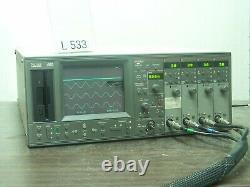 Nicolet 460 Oscilloscope De Stockage Numérique 4x200mhz Fft # L533