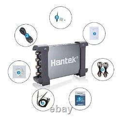 Nouveau Hantek 6074bc Pc De Stockage Numérique Usb Oscilloscope 70mhz 64k 4ch 1gsa/s Win10