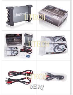 Nouveau Hantek 6074bc Pc Usb De Stockage Numérique Oscilloscope 70mhz 64k 4ch 1gsa / S Win10