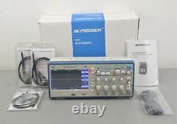 Nouveau Oscilloscope De Stockage Numérique Bk Precision 2553 4 Canaux 70 Mhz 2 Gsa/s