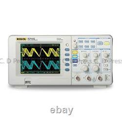 Nouveau Rigol Ds1052e Numérique Oscilloscope 50mhz 1 Géch / S 2 Canaux Plus Usb De Stockage
