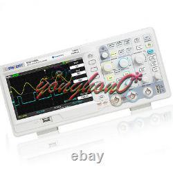 Nouveau Siglent Sds1102dl 100mhz Digital Storage Oscilloscope 2 Canaux +1 Ext 7 Zh