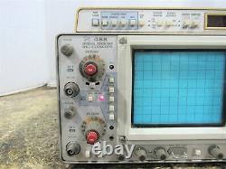 Oscilloscope De Stockage Analogique/numérique Tektronix 468 2 Canaux 100/10mhz Pour La Réparation