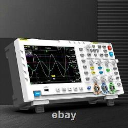 Oscilloscope De Stockage Numérique À Deux Canaux 100mhz 1gsa/s Signalgenerator 7color